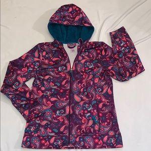 Girls REI jacket Size Large 14-16 purple